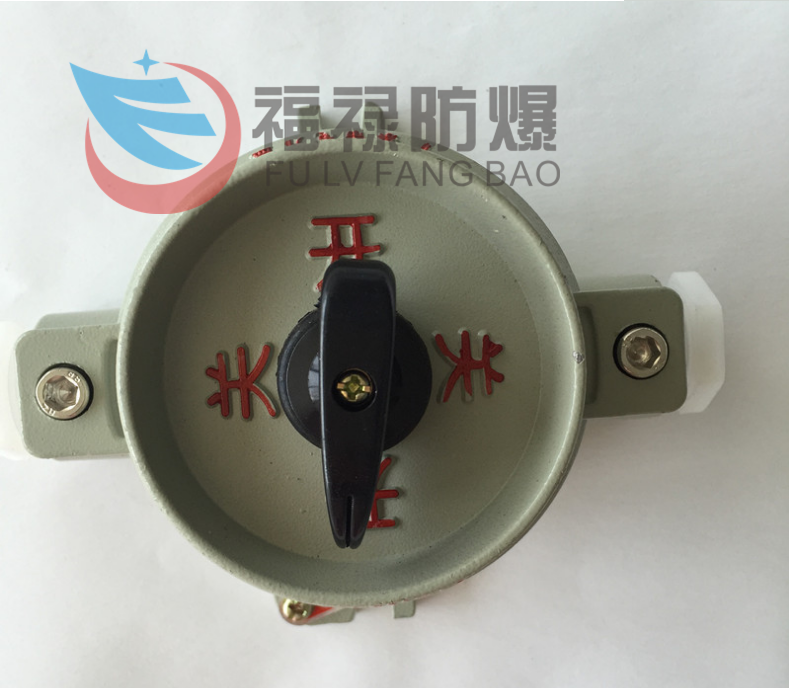 CBZM-10防爆单联单控照明开关