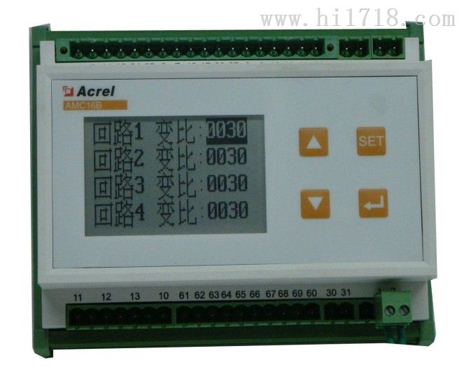 优质三相多回路监控装置供应AMC16B-3E3