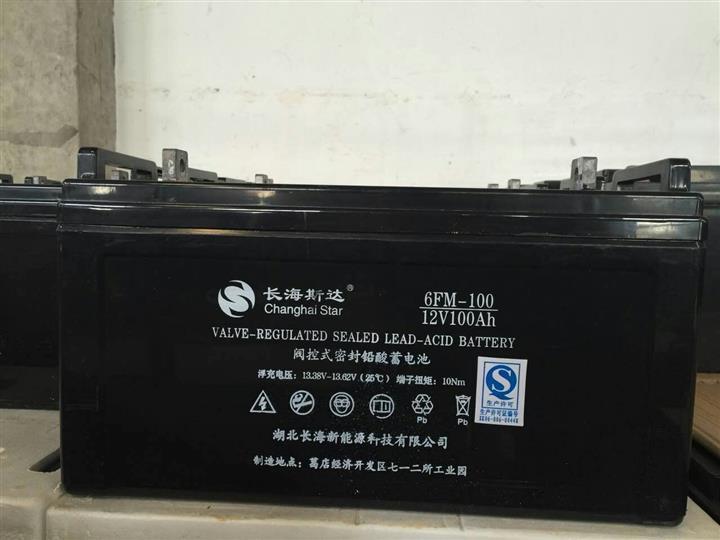 长海斯达蓄电池6FM-65 12V65AH厂家经销商