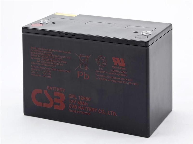 CSB蓄电池GP1272医用设备应急电源UPS专用