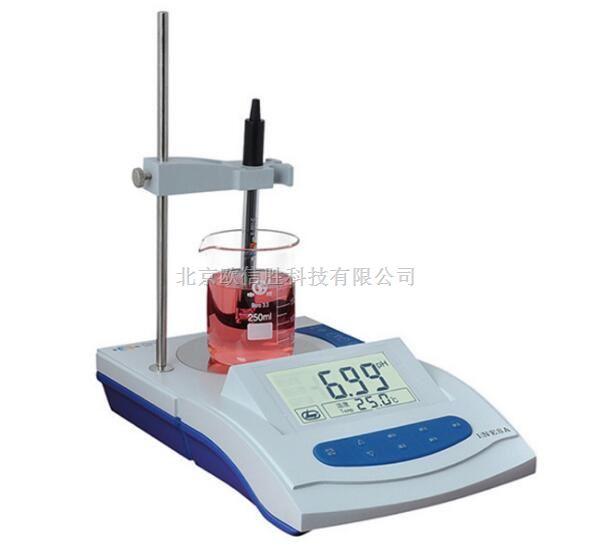 上海雷磁PHS-3G大屏幕带搅拌器PH测定仪酸度计