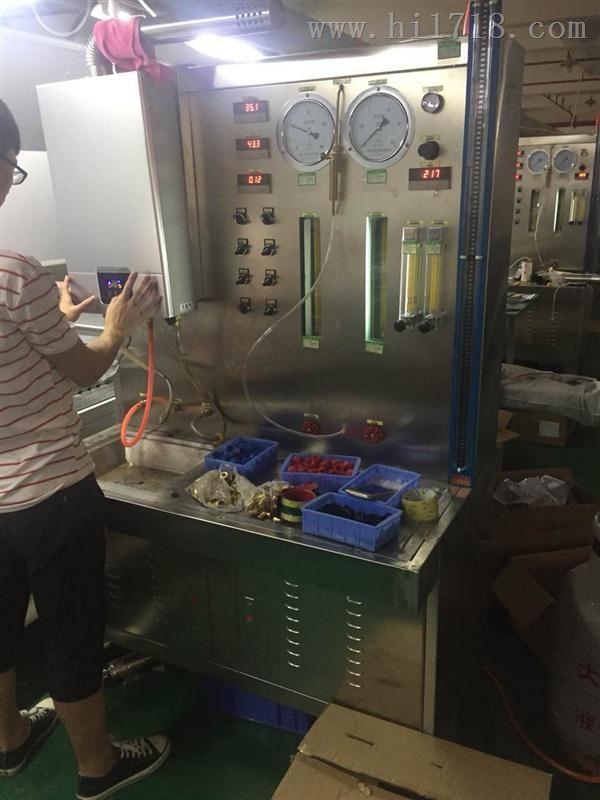 燃气热水器在线检测台