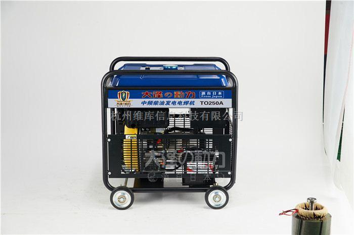 250A柴油发电电焊机大泽管道用