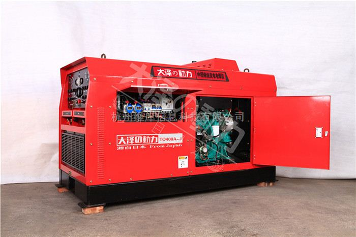 400A单双把柴油发电电焊机价钱