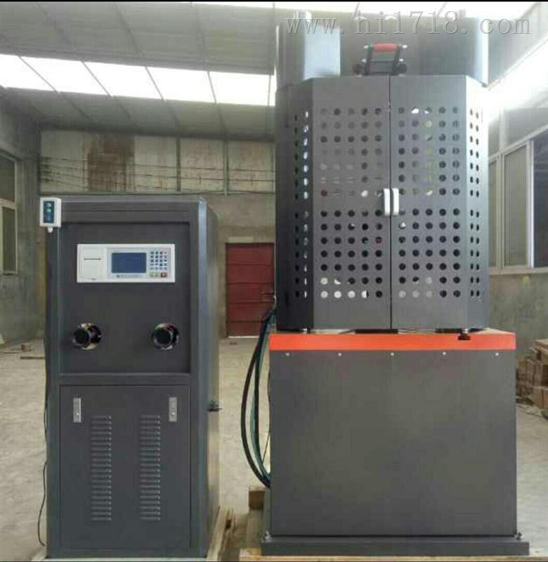 WAW-100B万能材料试验机