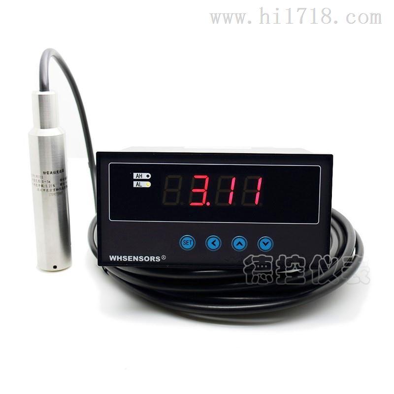 德控地热井水位温度一体测量仪WH311图片