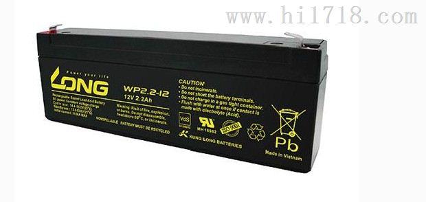 台湾广隆蓄电池WP4-6型号6V4AH厂家