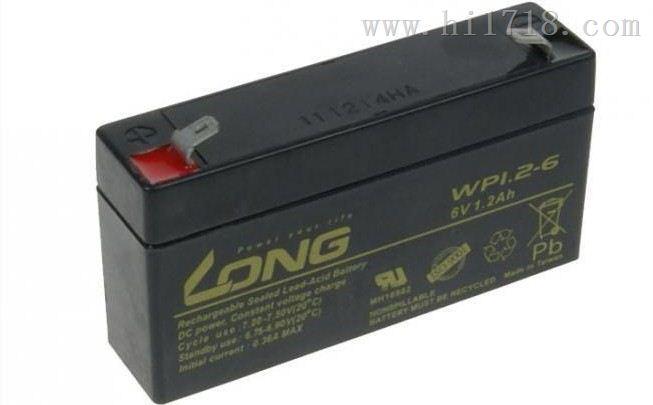 LONG台湾广隆蓄电池WP1.2-12规格12V1.2AH