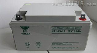 汤浅蓄电池12v65电力设备专用 正品