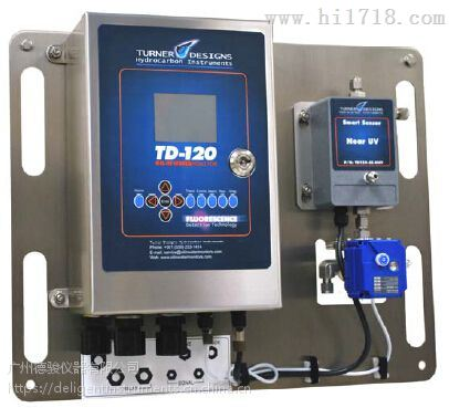 美国特纳-荧光水中油分析仪