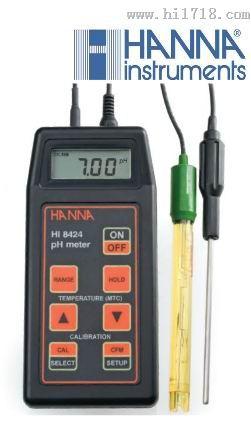 意大利哈納酸堿度pH測定儀HI8424現貨直銷
