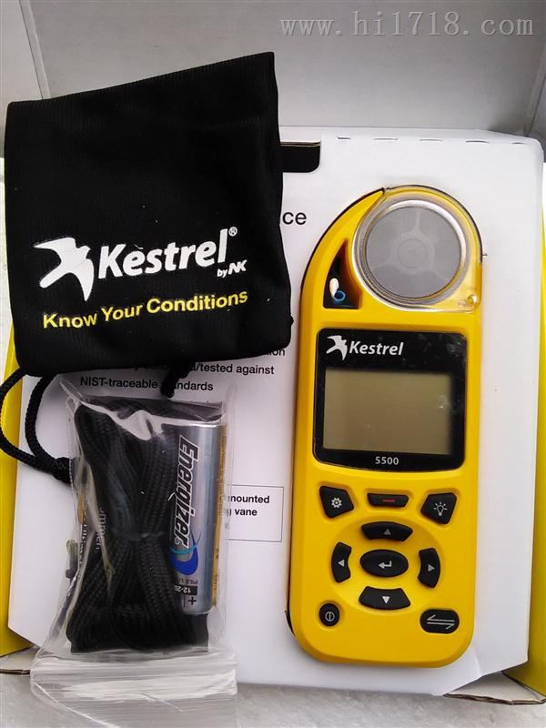 美国NK Kestrel 5500便携风速气象测定仪