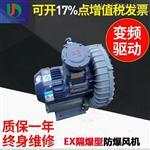 15KW工业化工沼气设备用防爆高压鼓风机厂家