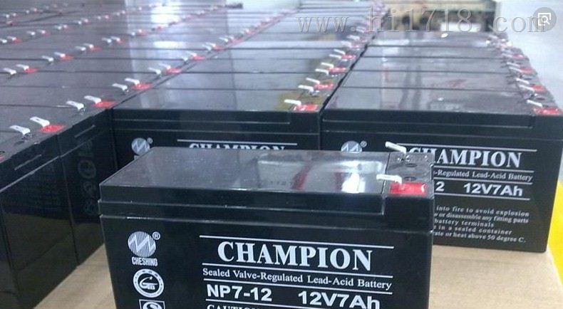 冠军NP7-12蓄电池 12V7AH
