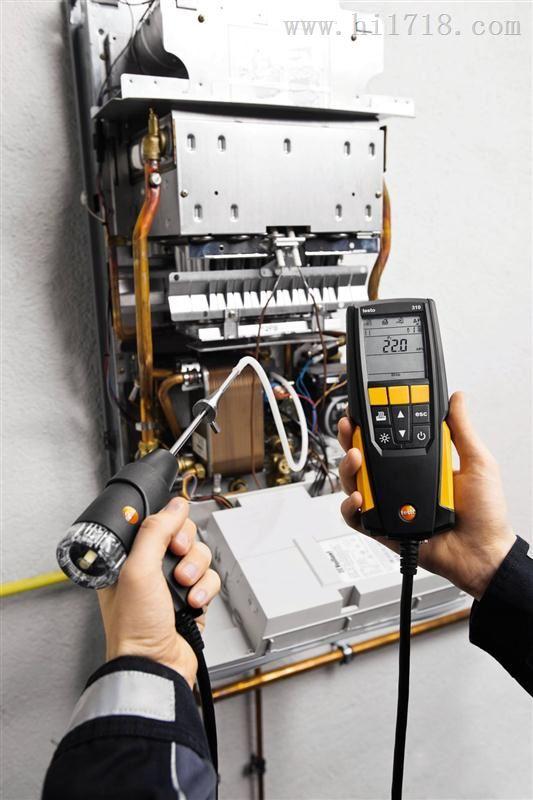 德国德图testo310 烟气分析仪套装带打印机