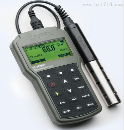 意大利哈纳HI98198 溶解氧测定仪 荧光法