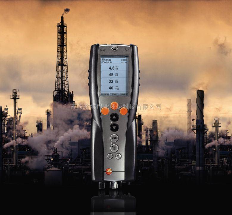 Testo烟气分析仪德图340烟雾成分检测