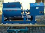 济南HJW-60混凝土搅拌机试验过程