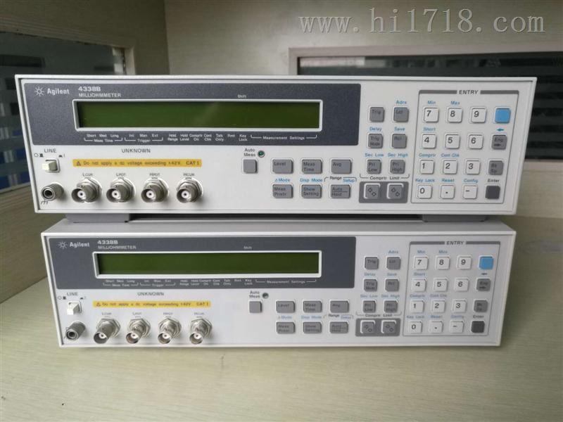 4338B_安捷伦4338B低电阻测试仪_一级代理商