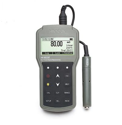 HI98192 EC-TDS-电阻率-NaCI测定仪