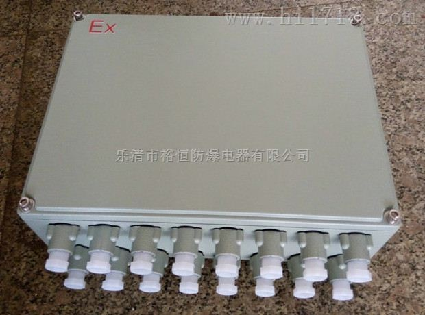 BJX-200*300铝合金壳体防爆接线箱