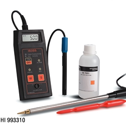 意大利哈纳HI993310 电导率EC-盐活度测定仪
