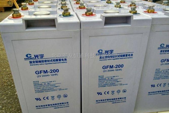 光宇蓄电池GFM-200原装正品