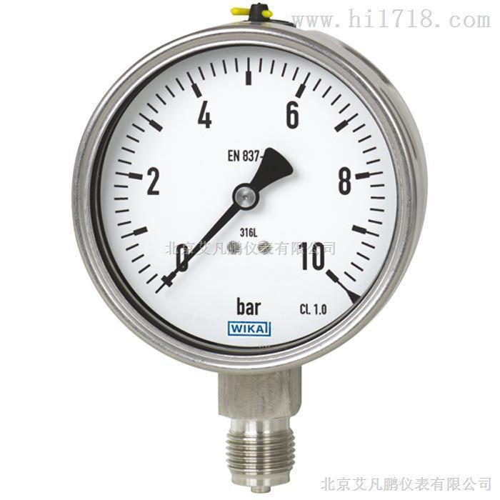 工业专用压力表  威卡波登管表
