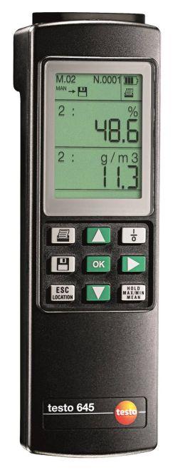 德国德图 testo 645 温湿度测量仪