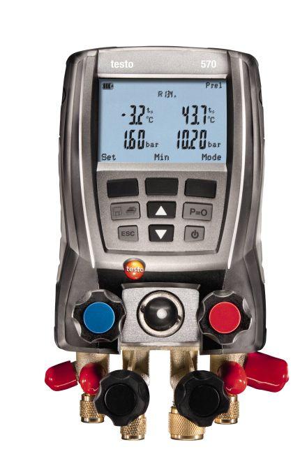 testo 570-2套装 专业级电子冷媒表组