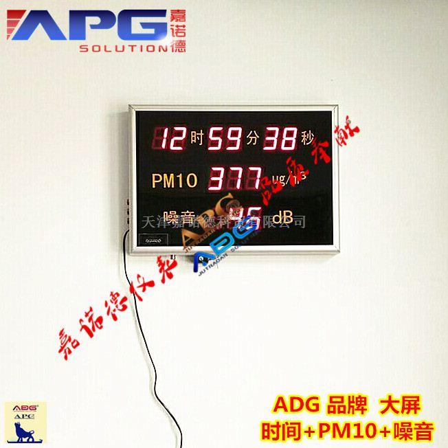ADG品牌在线声级计监测大屏