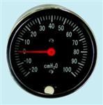 63 轴向接头两件式膜盒医用微压表