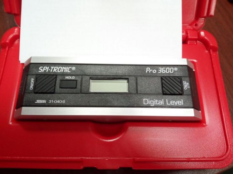 PRO3600 数位电子角度水平仪
