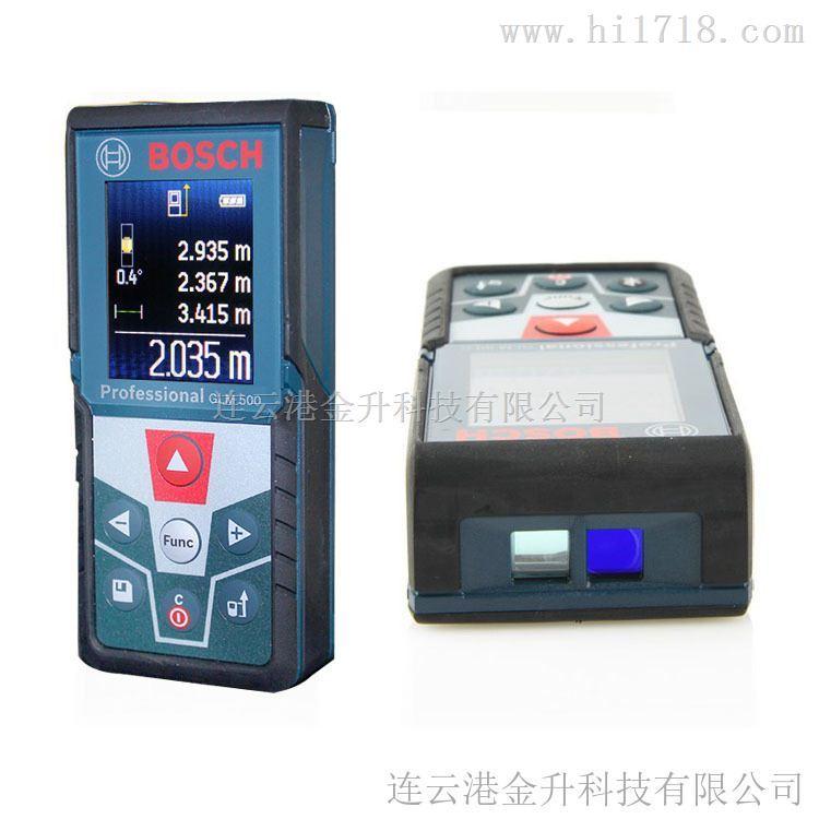 正品博世彩屏测量仪激光测距仪50米/GLM500
