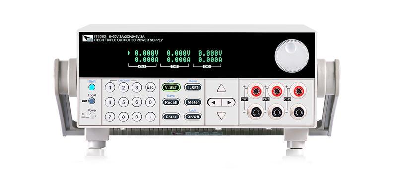 艾德克斯IT6382 高性能三路可编程直流电源IT6382