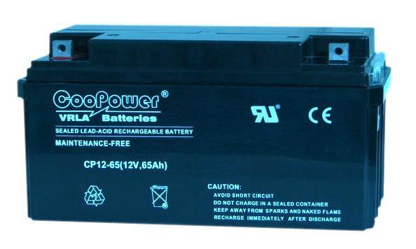 Coopower蓄电池CP12-65 12V65AH电力设备