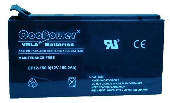 Coopower蓄电池CP12-150 12V150AH