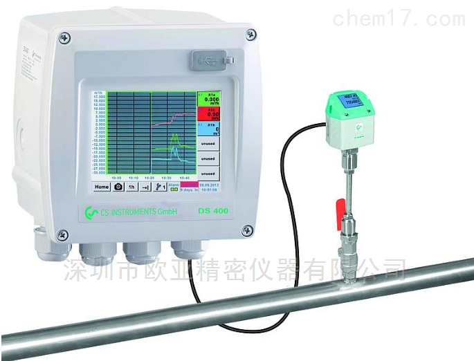 CS DS400压缩空气流量计