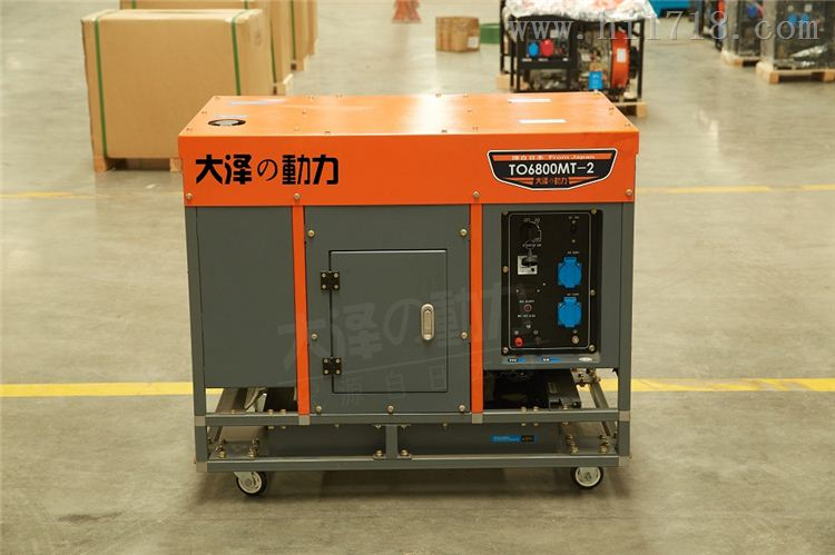 5千瓦柴油发电机220v电压