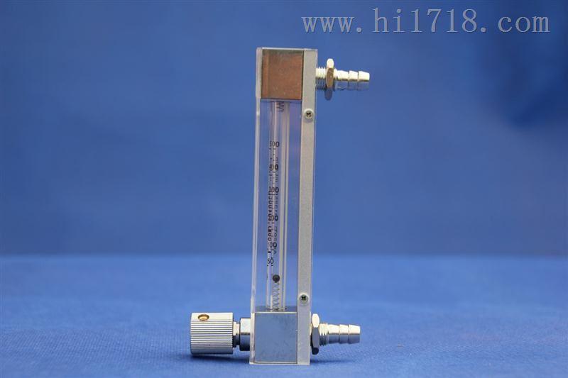 可调节流量外形小巧的玻璃转子流量计