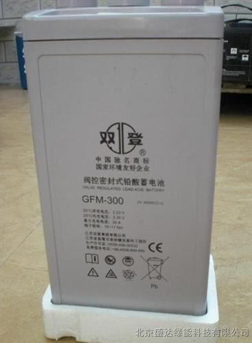 双登蓄电池GFM-300 工业蓄电池