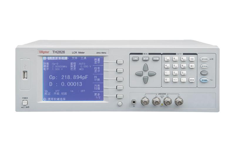 TH2826 LCR数字电桥,元器件参数测试仪