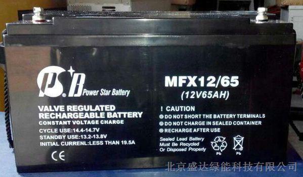 派士博蓄电池MFX12-100 蓄电池