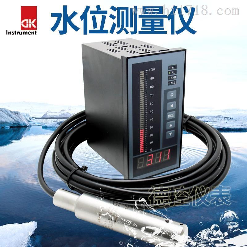 河南地下液位自动监测仪WH311安装接线 100米水位显示