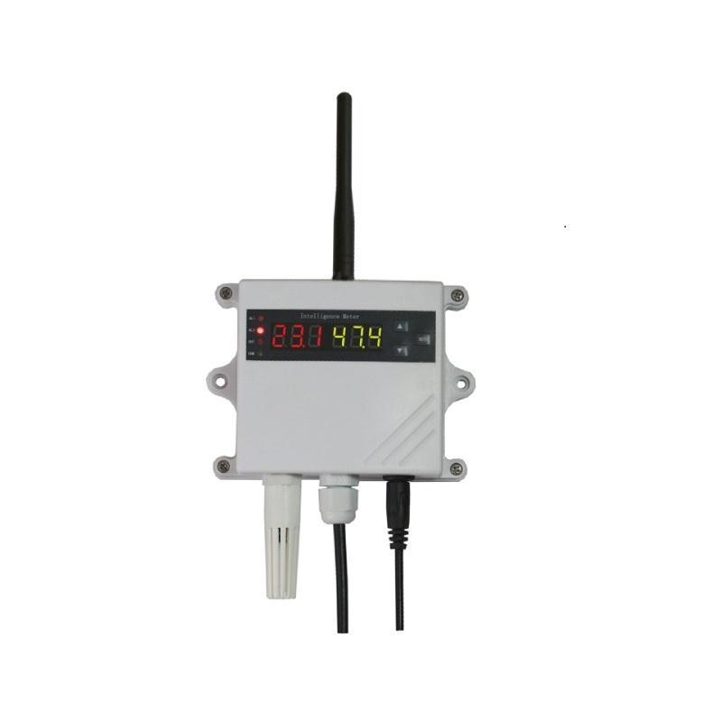 壁挂温湿度报警控制器4-20mA或RS485输出