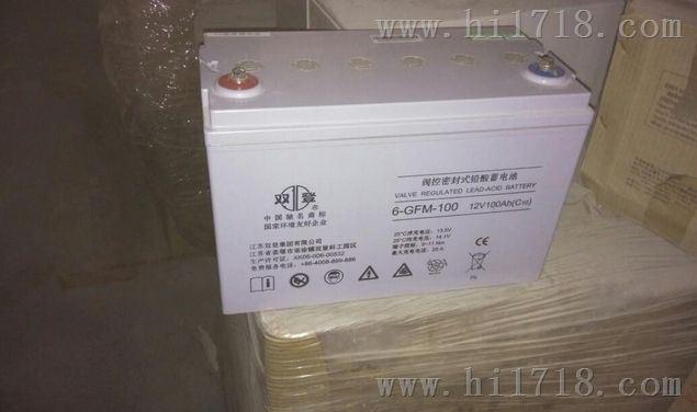 双登蓄电池12V100AH(6-GFM-100)