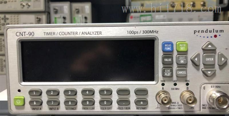 测源电子CNT-90计数器cnt-90时间间隔频率计