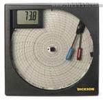 8寸圆盘走纸温湿度记录仪TH802