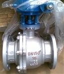 Q341Y-150LB美标涡轮硬密封球阀