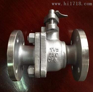 Q41F-150LBP美标不锈钢法兰球阀